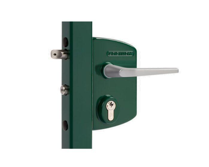 Gājēju veramo vārtu slēdzene LOCINOX alumīnija 40/60mm