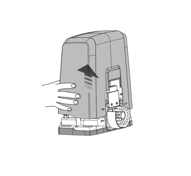 BFT DEIMOS AC A 600 MAG KIT Bīdāmo vārtu automātika