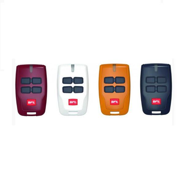 BFT MITTO 4 Vārtu automātikas tālvadības pultis dažādās krāsās KIT  4gab