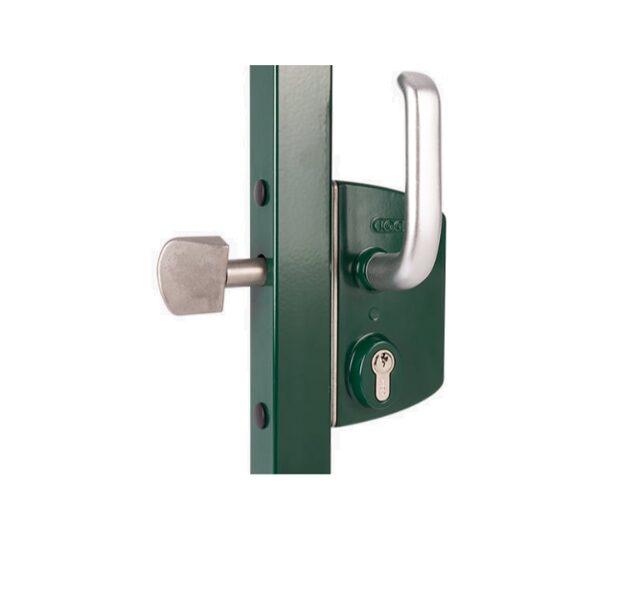 Bīdāmo vārtu slēdzene LOCINOX alumīnija 40mm