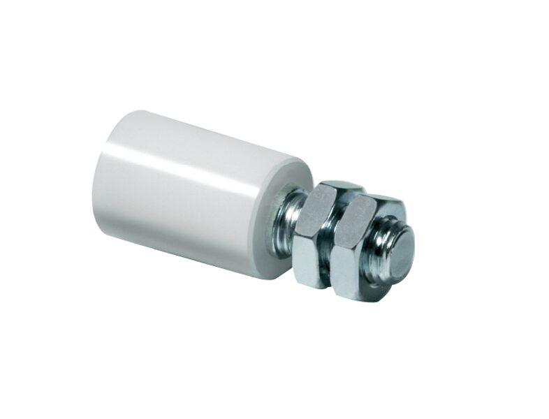 COMUNELLO Bīdāmo vārtu līdzsvara neilona rullītis  D40mm cinkots