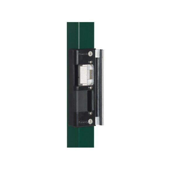 Gājēju veramo vārtu elektriskā aizbīdne/ elektrosprūds LOCINOX REPTURA SEH-R RAL 9005 (melna)