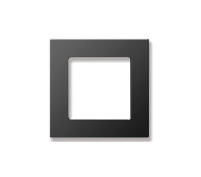 SOMFY SMOOVE BLACK Rāmis 80x80mm