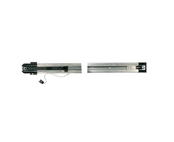 SOMFY paceļamo garāžas vārtu viengabala sliede ar ķēdi 2900mm