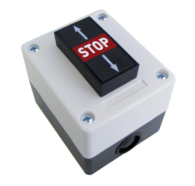 BFT SPC3 ārējais trīs pogu panelis ATVĒRT/APTURĒT/AIZVĒRT